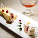 """Bar & Restaurant """"Barillon 1909""""""""Седмица на Авторската кухня"""" - 17-23 ОктомвриДесертЕсенен тиквен чийз кейк с лешници, годжи бери, нежен мус от смокини и желирана ремулата и пистачо.Вижте цялото меню ТУКЗа резервации: 02 905 13 13"""