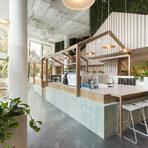 """Kitty Burns MeлбърнКатегория: """"Най-добро кафене""""Дизайн: Biasol Design Studio 6"""