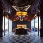 """Les BainsПарижКатегория: """"Най-добър ресторант в Европа""""Дизайн: RDAI 3"""