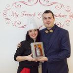 Hennessy наградиха Тамта Калваши с бутилка отличен и деликатен Hennessy Fine de Cognac.