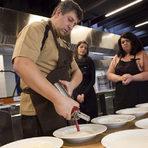 Когато прави крем супи, шеф Дамянов използва сифон, който прави пухкава пяна. Остатъкът може да бъде използван като пюре в основното ястие. (Такъв сифон може да се закупи от повечето немски магазини на цена от около 15 лв.).