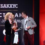 """За трети път Grape Central победи конкурентите си в категория """"Напитки и винена листа"""", а наградата им беше дадена от Цветан Бешевишки - управител на """"Трансимпорт""""."""