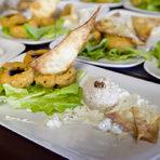Тараторът с тахан е от областта Антакия. Там е много горещо през лятото и местните жители го ядат като основно ястие.Пилето по черкезки идва от Черноморската част на Турция. Празнично ястие на хората от Кавказите - черкези и чеченци, прави се само за специални големи поводи.