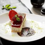 ДесертШоко огура ан - шоколадова торта със сладък червен боб