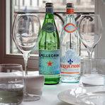 Acqua Panna и San Pellegrino са тясно свързани със света на виното и висшата кулинария. Структурата на водите е изключително подходящa за дегустации на вино и комбиниране с изискана кухня, а подходящото им съчетаване увеличава удоволствието от конусмацията им. Acqua Panna и San Pellegrino са официалните води на Световната Асоциация на сомелиерите.
