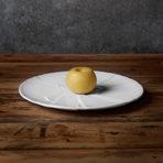 Златна ябълка, пълнена със собрасада и компот от ябълки. Съчетана с Telmo Rodriguez by Miquel Barselo for Matador Project do la Rioja.