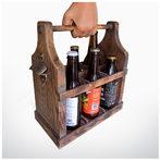 Крафт дървена каса за 6 бириКаса бира, но каква. Крафт бирите, също като виното или уискито, заслужават свое собствено дървено сандъче. Ръчно правено от рециклирано дърво, винтидж аксесоар за модерни градски естети. За хипстъри с вкус към автентичното. А видяхте ли отварачката?От S.M.Art по поръчка80 лв.