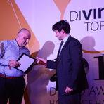 Пет вина получиха награда в категория Best buy - за български вина с най-добро съотношение между качество и цена.На снимката: Награждаването на ВИ Варна за техния Riesling 2016.