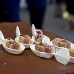 Селекция от аmuse bouches, приготвена от Red Devil Catering.