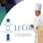 """Първата лекция беше на шеф Емил Минев, кулинарен директор на Le Cordon Bleu London. Темата на презентацията беше """"Think global, cook local""""."""