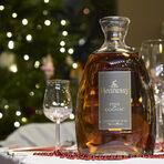 Бленд от четирите най-добри крю-та в региона Коняк, Hennessy Fine de Cognac е една изключителена напитка, който е съвършен комплимент към шоколада. Нотките на мед, канела и жълти плодове в кадифения вкус на коняка бяха и идеален завършек на вечерята.