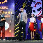 """Първата награда за вечерта беше в категория """"Дебют"""". Тя беше връчена от Рангел Рангелов, маркетинг мениджър Трасимпорт ООД."""