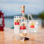 """""""Ouzo 12"""" се отличава с дългата си история, традиции в производството, мек вкус и уникален аромат. Всяка бутилка ни напомня за топла и слънчева Гърция. """"Ouzo 12"""" е създадено през 1880 г. в дестилерията на братя Калоянис и носи името на бъчва №12, в която се съхранявало богатото на вкус и аромат узо, благодарение, на които и днес """"Ouzo 12"""" е една от най-предпочитаните анасонови напитки в света. """"Ouzo 12"""" се отличава със свеж аромат на фенел, анасон, женско биле и подправки. Kонсумира се най-често разредено с лед и вода.Насладете му се според повода, в комбинация със салати, ордьоври, морски деликатеси, основни ястия или десерти.И не забравяйте, най-важни са приятната компания и умерената консумация!НАЗДРАВЕ!"""