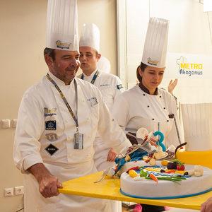 Гастрономическо шоу с участието на 16 топ готвачи отбеляза третия рожден ден на МЕТРО Академия
