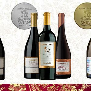 Шест медала за Катаржина Естейт на San Francisco International Wine Competition 2015