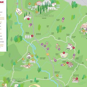 Картата на мелнишките винени съкровища