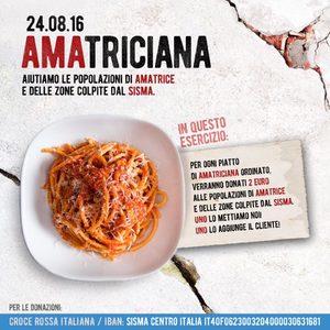 Италиански ресторанти от цял свят в помощ на Аматриче