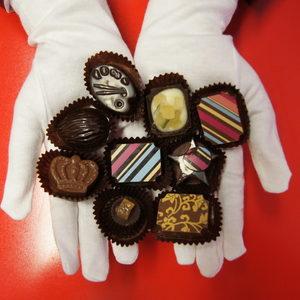 Сърце от шоколад