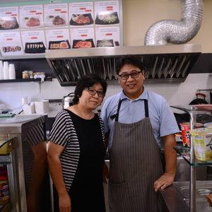 Корея: представена от Ким Сангиюн, ресторант Cup&Roll
