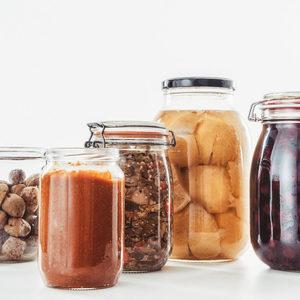 Ферментирали стъбла на карфиол (рецепта)