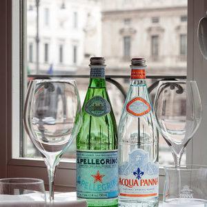 Воден бар Acqua Panna § San Pellegrino