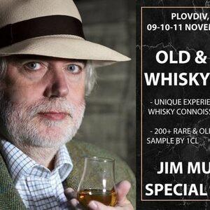 Джим Мъри пристига за първото уиски шоу в Пловдив