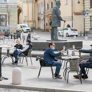 Вилнюс се превръща в гигантско кафене