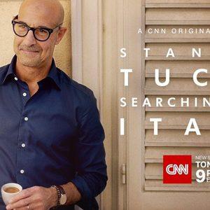 Стенли Тучи обикаля Италия в ново кулинарно шоу на CNN