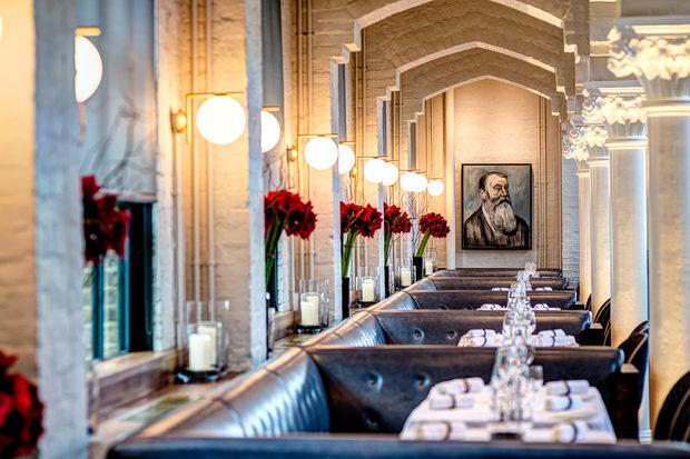 """German GimnasiumЛондонКатегория: """"Най-добър ресторант""""Дизайн: Conran&Partners"""