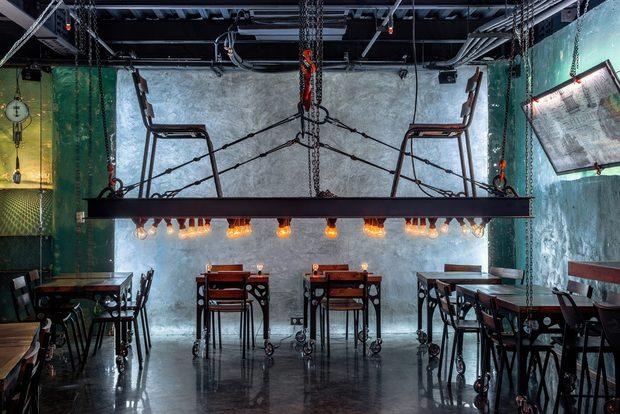 """Jo Grilled Food ТехеранКатегория: """"Най-добър ресторант в Средния Изток и Африка""""Дизайн: WhiteRhino Design Group 2"""