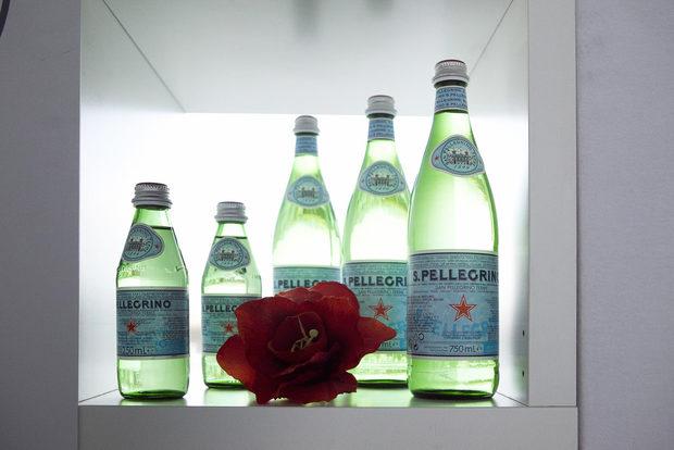 Ето и напитките в 16-тата церемония за Ресторант на годинатаAcqua Panna & San PellegrinoВ дегустационното меню за вечерта беше включена консумация на Acqua Panna&S.Pellegrino, официалните води на Международната асоциация на сомелиерите. Профилът на двете води е изключително подходящ за дегустации с вино и съчетание с храна.
