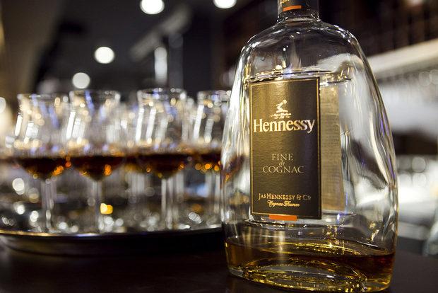 Комапния на есенните круши направи Hennessy Fine de Cognac.