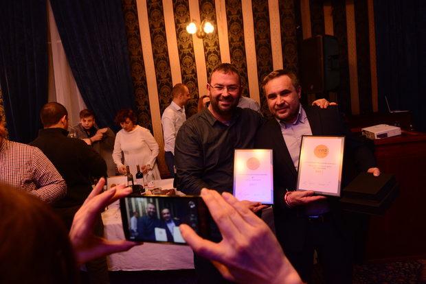 Общо 12 награди бяха раздадени през вечерта, като големия приз получи Domaine Bessa Valley с тяхното най-добро кюве - Grande Cuvee 2013.Вижте кои са останалите най-добри български вина за 2017 г. в галерията ни.