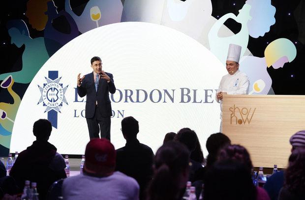 Лекторският панел беше отркит с презентация от организационните партньори на събитието Le Cordon Bleu London, прдставени от г-н Джонатан Мозес, който разказа подробности за дейността на известната кулинарна академия.