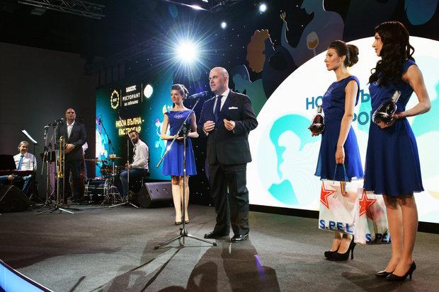 """Втората награда за вечерта беше в категория """"Нова вълна - Гастробар"""". Тя беше връчена от Тед Лелекас - Посланик на Moet Hennessy за Централна и Южна Европа."""