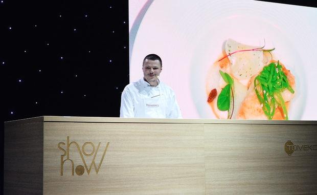 Рибното ястие беше приготвено от шеф Любомир Тодоров от хотел Ястребец Уелнес енд Спа, Боровец. Повече за неговото ястие може да видите тук.