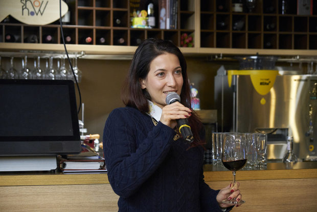 Комбинирахме основното ястие с чаша Villa Melnik Aplauz Premium Reserve Каберне Совиньон 2015, което беше представено от Милица Зикатанова.