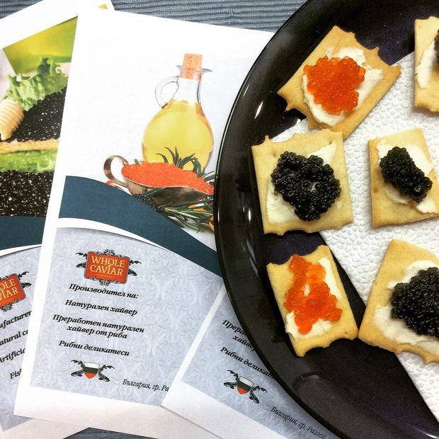Whole Caviar е нещо специално! Първият руски производител на натурален хайвер в България от сьомгова пъстърва и на преработен хайвер. Всичко е приготвено от натурални съставки в екологично чист регион на България (близо до Банско). Освен дозата лукс, присъща на продукта, от Whole Caviar обеащават да ни правят и палачинки с хайвер на място. Не пропускайте да ги опитате на Бакхус Fish Fest 2.Всичко за Бакхус Fish Fest вижте тук.Научавайте новостите за събитието във Facebook.КУПЕТЕ БИЛЕТ ОНЛАЙН >>>