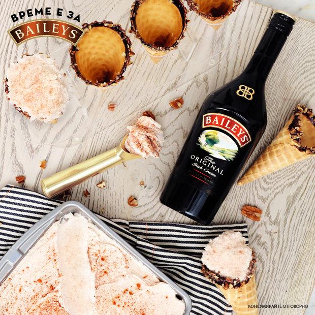 И тази година изкушаващият кадифен вкус на Baileys e на StrEAT Fest. Освен любимите студени напитки с Baileys Original и Baileys Chocolat Luxe, ще може да се насладите на най-новото ягодово предложение, което Sugarmouse приготви специално за феста – сладолед с Baileys Strawberries & Cream.Следете ни последните новости във Facebook »Следете ни последните новости във Facebook »Всичко за Bacchus StrEAT Fest вижте тук. »Купете билет онлайн от тук