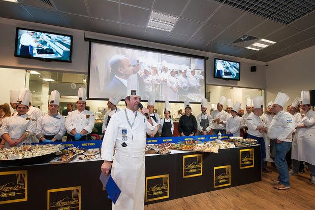 МЕТРО Академия е мястото, където може да обогатите своята кулинарна култура, да усетите атмосферата в една професионална кухня, да получите вдъхновяващи идеи и знания за нови, екзотични и иновативни продукти и техники за тяхното приложение от най-квалифицирани специалисти.Ако имате идея да проведете по-нестандартен и забавен тиймбилдинг за вашите служители, можете да дойдете при нас и да ви организираме страхотно и незабравимо кулинарно предизвикателство.Ако не знаете къде да проведете обучение, конференция или семинар, МЕТРО Академия разполага с две оборудвани конферентни зали и ресторантска част, която също е подходяща за провеждане на групови мероприятия.Ако желаете да презентирате или дегустирате нови и атрактивни продукти и техники за приготвянето им на свои клиенти, контрагенти или служители правилното място е Академията със своята професионална база от 840 кв.мМетро Академия отваря врати в началото на 2012 година, следвайки примера на успешните практики на подобни центрове в Италия, Франция, Полша и Румъния. Основната дейност на Академията са кулинарни курсове с разнообразна тематика и различна степен на трудност. Подходящи са за професионални готвачи и любители кулинари.Основната ни цел е близкият контакт и взаимна подкрепа с ХоРеКа бизнеса в България, на който МЕТРО е основен доставчик и партньор. Водени от тази идея сме и ние в Метро Академия, осъзнавайки основния проблем в ХоРеКа сектора - липсата на добре обучени и квалифицирани кадри, ние превърнахме разрешаването на този проблем в наша мисия.Академията разполага с 2 конферентни зали, ресторант, бариста корнер и напълно оборудвана, професионална кухня за провеждане на кулинарни курсове и тиймбилдинг.Всичко за Бакхус Fish Fest 2 вижте тук.Научавайте новостите за събитието във Facebook.КУПЕТЕ БИЛЕТ ОНЛАЙН >>>