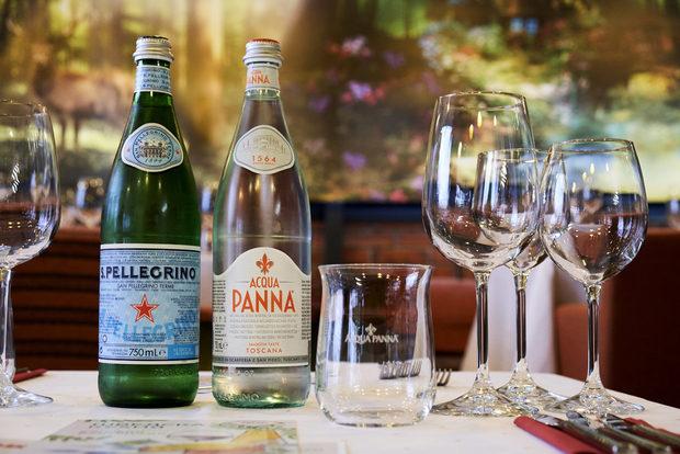 Благодарим много и на партньорите ни от Acqua Panna & S.Pellegrino, които предоставиха водите за вечерята.