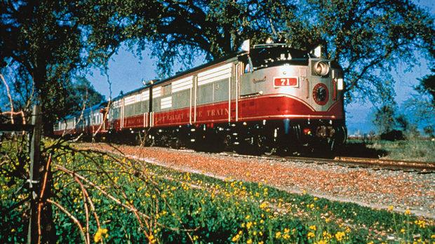 Виненият влак на Напа