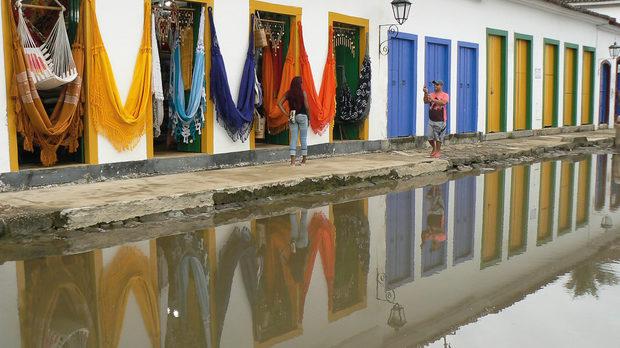 Първото португалско колониално пристанище, от където е товарено бразилското злато за Европа, Парачи