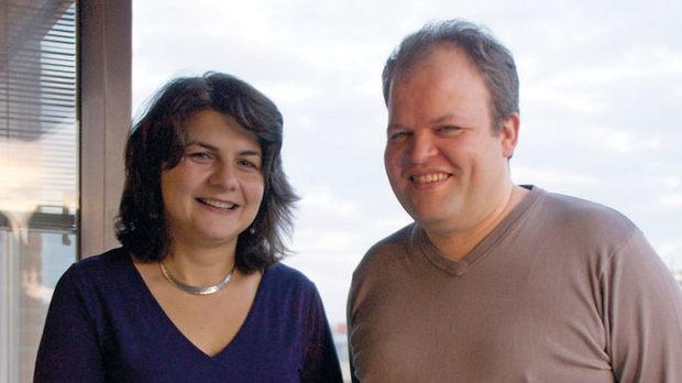 Меглена Михова и Кристоф Сепулвада