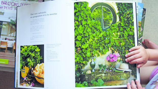 Книгата, издадена от Ким Кук и Морис Алекси - негови рецепти, неин дизайн.
