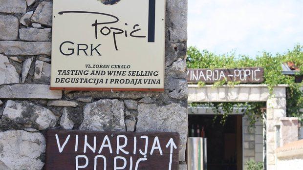 Изба Попич, Хърватия