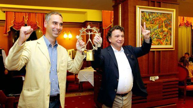 Едоардо Миролио (дясно) и Никола Матали