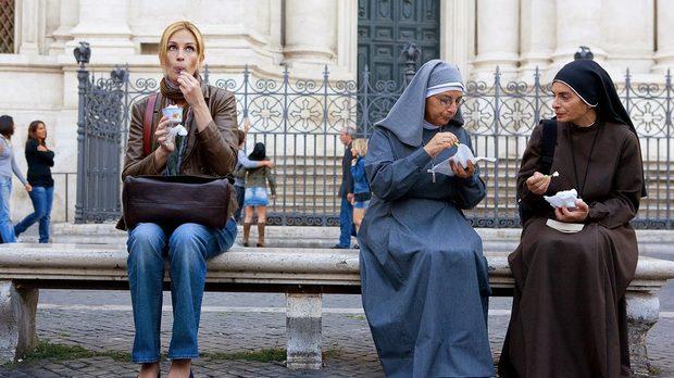 Яденето на джелато в Италия се популяризира и от филми като