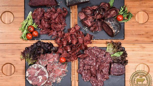 Плато от неповторими деликатеси с уникалния вкус на месото Black Angus