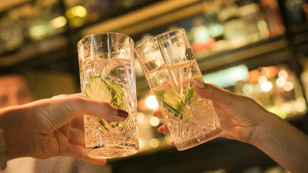 Класически джин и тоник